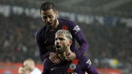 Manchester City Optimistis Raih Empat Gelar Musim Ini