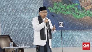 'Menangkap' Infrastruktur Langit Kebanggaan Ma'ruf Amin