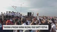 Tawuran, Pingsan & Aksi Copet Warnai Road Safety Festival
