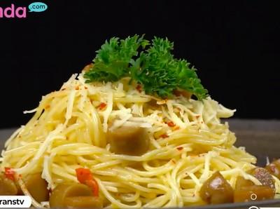 Resep Spaghetti Aglio Olio Hemat, Sajian Makan Malam Praktis