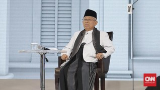 Ma'ruf Amin Ajak Maudy Koesnaedi dan Olga Lydia Sarapan