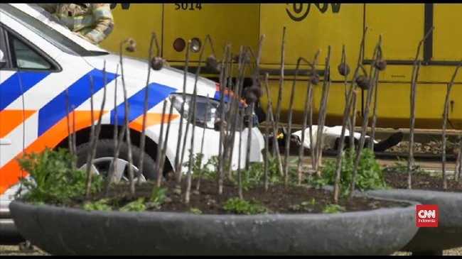 VIDEO: Polisi Masih Buru Pelaku Penembakan di Utrecht