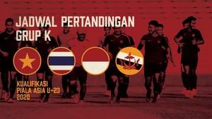INFOGRAFIS: Jadwal Pertandingan Timnas Indonesia U-23