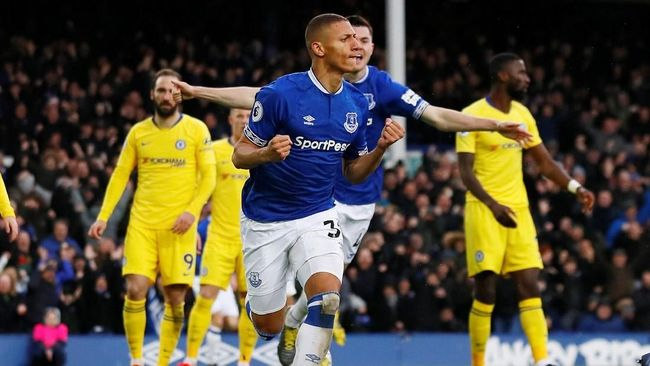 Chelsea Kalah dari Everton di Liga Inggris