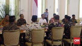 Jokowi Terima Pimpinan FBR di Istana Bogor