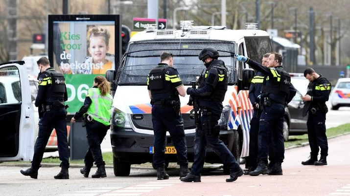 Kejaksaan Belanda merilis pernyataan tentang motif terorisme di balik penembakan di Utrecht
