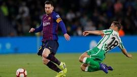 Meme Lucu Lionel Messi Hattrick ke Gawang Real Betis