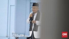 Ma'ruf Amin Dukung Putusan MK soal Suket untuk Kurangi Golput