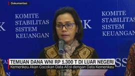 Temuan Dana WNI Rp 1.300 T di Luar Negeri