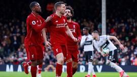6 Catatan Menarik Liverpool Kalahkan Fulham di Liga Inggris