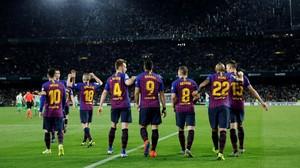 FOTO: Hattrick Messi Antar Barcelona Menang Telak Atas Betis