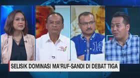 Selisik Dominasi Ma'ruf-Sandi di Debat Tiga (4/4)