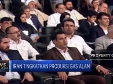 Iran Genjot  Produksi Gas Alam