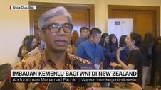 Imbauan Kemenlu Bagi WNI di New Zealand