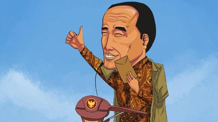 Jokowi telah menandatangani Peraturan Presiden Nomor 24 Tahun 2019 tentang Tunjangan Kinerja Pegawai di Lingkungan Badan Ekonomi Kreatif (Bekraf).