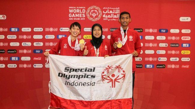 Kontingen SOIna Tambah Emas dari Atletik di World Games 2019