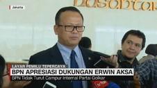 BPN Apresiasi Dukungan Erwin Aksa
