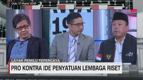 Rocky Gerung & Nusron Wahid Debat Wacana Penyatuan Lembaga Ri
