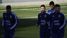 FOTO: Lionel Messi Kembali ke Timnas Argentina
