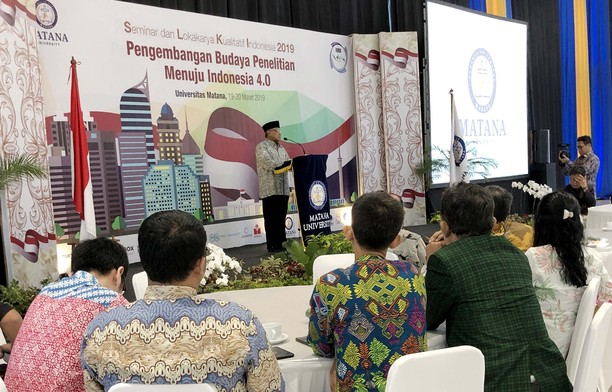 Pengembangan Budaya Penelitian Menuju Indonesia 4.0