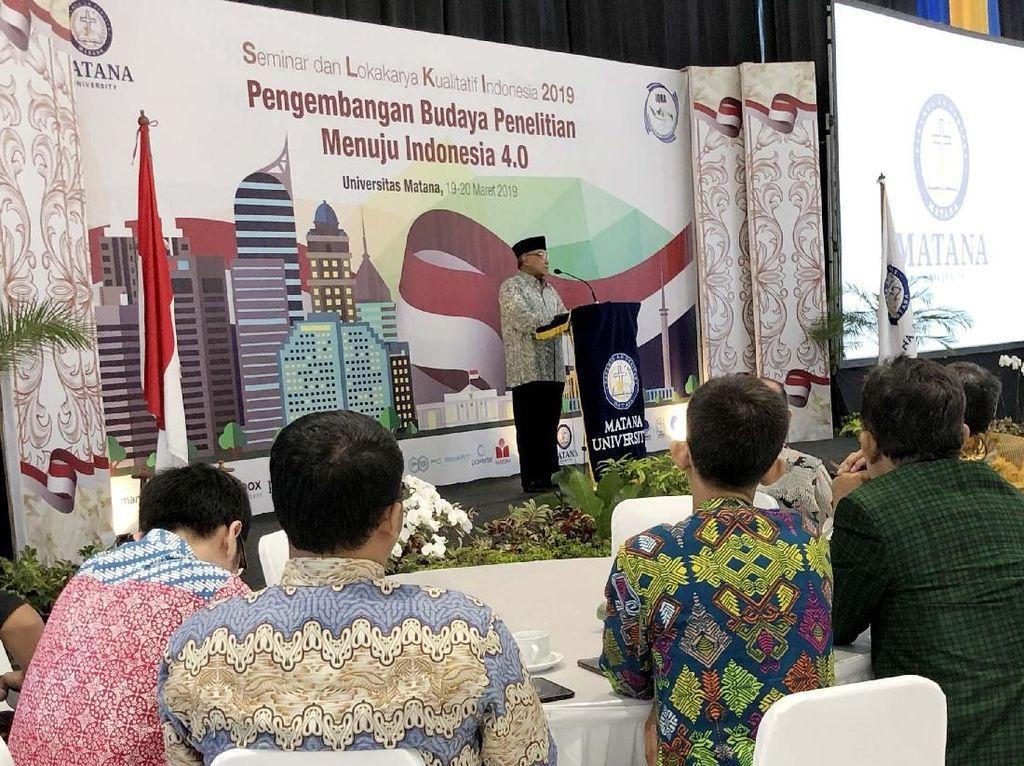Seminar dan Lokakarya Kualitatif Indonesia (SLKI) 2019 adalah kegiatan yang mempertemukan para peneliti berbasis kualitatif dari seluruh institusi pendidikan tinggi serta lembaga penelitian pemerintah dan independen dari seluruh Indonesia. Foto: dok. Matana University