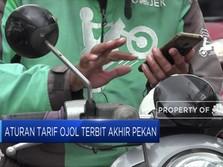 Aturan Tarif Ojol Tunggu SK Menhub