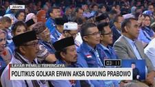 Politikus Golkar Erwin Aksa Dukung Prabowo-Sandi