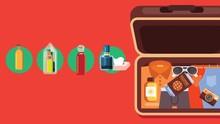 INFOGRAFIS:  Cara Kemas Kosmetik saat Wisata