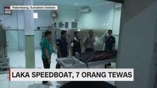 Laka Speedboat, 7 Orang Tewas