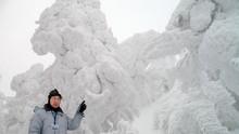 Fenomena 'Monster Salju' di Jepang yang Memikat Wisatawan