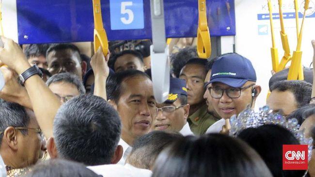 Jokowi Pastikan Tarif MRT Ditetapkan Sebelum 24 Maret 2019