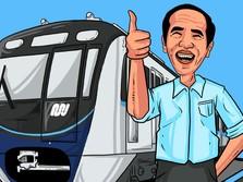Simak Strategi Jokowi Dorong Warga Pakai MRT