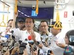 Jokowi Akan Resmikan MRT Jakarta Pagi Ini
