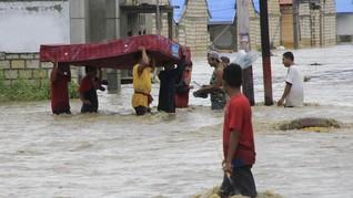 Korban Meninggal Banjir Sentani Capai 83 Orang