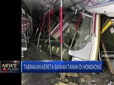 Tabrakan Kereta Bawah Tanah di Hong Kong