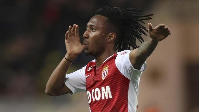 Arsenal dikabarkan A Bola mengincar penyerang asal Portugal Gelson Martins yang saat ini dipinjamkan Atletico Madrid ke AS Monaco. Penyerang 23 tahun itu mencetak tiga gol dari tujuh laga bersama AS Monaco. (VALERY HACHE / AFP)
