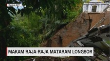 Makam Raja-Raja Mataram Longsor
