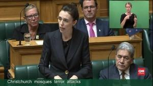 VIDEO: PM Selandia Baru Tak Bakal Sebut Nama Teroris Masjid