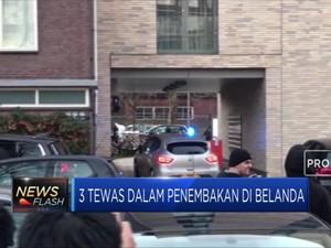 3 Orang Tewas Dalam Penembakan di Belanda