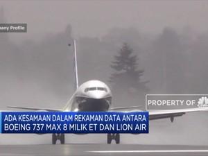 Ada Kesamaan Data Antara ET-302 dan Lion Air PK-LQP