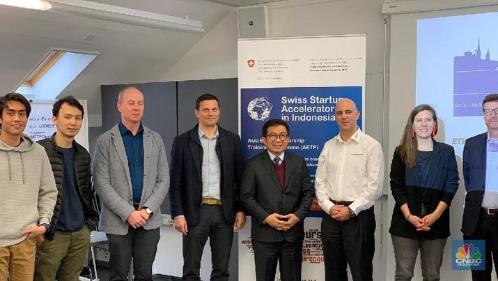 Swiss Buka Program Pengembangan bagi Startup RI, Tertarik?