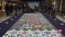 VIDEO: Bosnia Buat Karpet Tradisional dari Tutup Botol Bekas