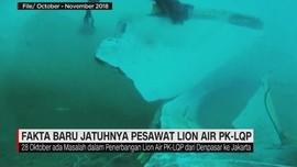 Fakta Baru Jatuhnya Pesawat Lion Air PK-LQP