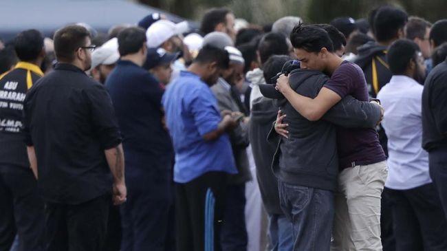 Penembakan Di Selandia Photo: FOTO: Peristirahatan Terakhir Korban Teror Di Selandia Baru