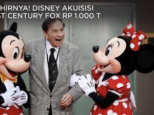 Disney Rogoh Rp 1.000 T Demi Akuisisi 21st Century Fox