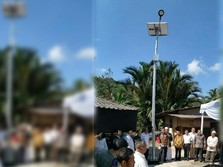 Makin Terang, Kini Jabar Punya 2.230 Lampu Jalan Tenaga Surya
