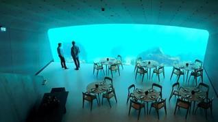 Restoran Bawah Laut Pertama Eropa Dibuka di Norwegia