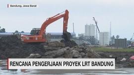 Rencana Pengerjaan Proyek LRT Bandung