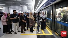 Menhub Minta Manajemen Bentuk Tim Tatib Naik MRT