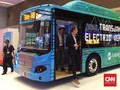2 Konsep Bus Listrik Transjakarta Dipamerkan di Jakarta